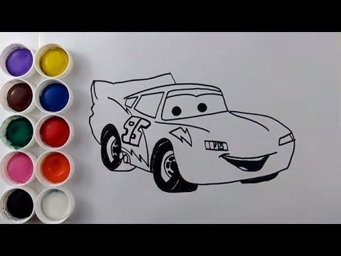 Arabalar şimşek Mekkuin çizgi Film Izle Disney Cars Coloring Pages