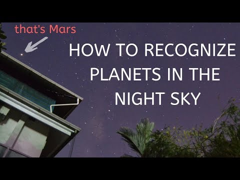 How to  recognize planets with naked eyes| Astronomy