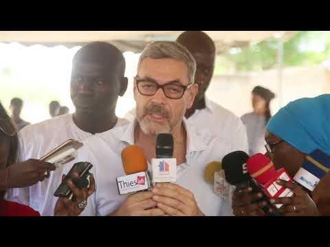 Inaugurazione Poste de Santé Thiés - Senegal
