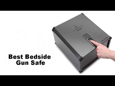Best Bedside Gun Safe (With Biometric Fingerprint Technology)