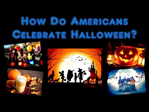 How Do Americans Celebrate Halloween?