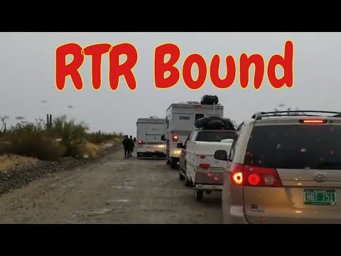 On Our Way to the RTR 2018 Quartzsite, AZ