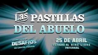 Las Pastillas del Abuelo en el estadio Malvinas Argentinas al aire libre !