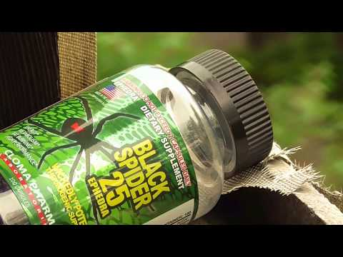 Жиросжигатели - Black Spider 25 Ephedra #ткаченкофитнес