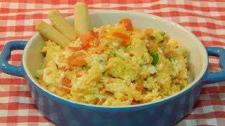 Receta fácil de huevos pericos