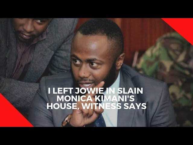 Witness narrates his meeting with Jowie and Monica on the night of the murder