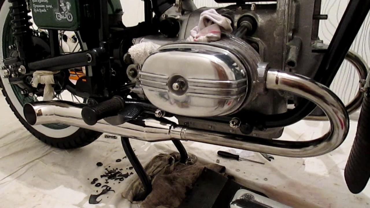 5 май 2017. Мотоцикл урал м67-36 1977 г. В. Обзор кастомных глушителей от