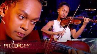 """Maude joue le """"Concerto violon en E Mineur, 1er Mouvement"""" de Mendelssohn - Prodiges 5"""