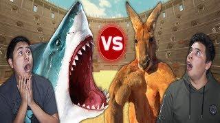 Reaction Time Vs Shark! (Beast Battle Simulator)