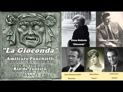 La Gioconda - (Suliotis/Raimondi/Guelfi) - complete opera - Rio de Janeiro, 1969.