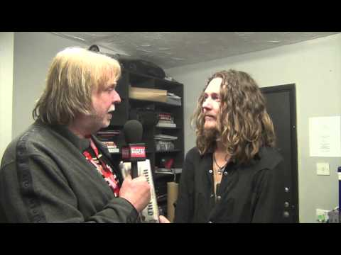 Rick Wakeman Interviews Adam Wakeman (Backstage at Planet Rockstock 2013)