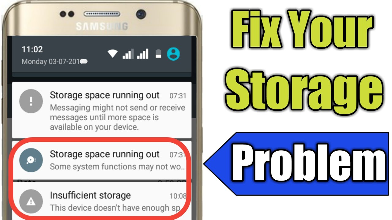 How To Free Up Phone Memory Space On Android Clean Internal