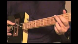 "Humidor Guitars-cigar Box Guitar-original Tune-""camacho"""