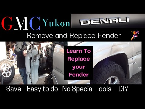 GMC Yukon | Denali | Replace Fender [ 12 Step-by-Step | Instructions ] Easy DIY