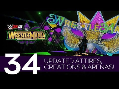 WWE 2K18: `WrestleMania 34` Arena Showcase  (PS4 CC) by Fernlot