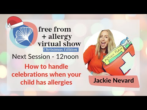 How to handle celebrations when your child has allergies- Jackie Nevard