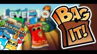 Bag It! / Fresh Squeeze / Levels 10 / Balanced Breakfast! / All Upright! / Three Stars Walkthrough