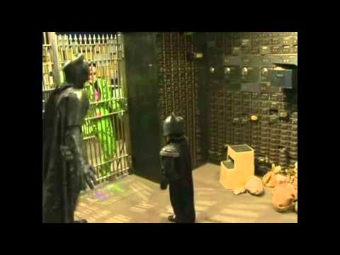Batkid Nabs the Riddler (The only raw footage on YouTube)