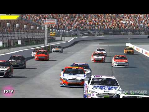 rSeat.net Sprint Cup Series from New Hampshire - Courtesy of Team Splosion TV