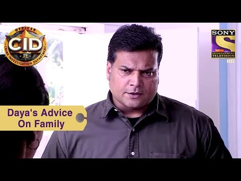 Your Favorite Character   Daya's Advice On Family   CID