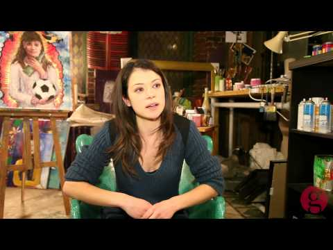 On the set of 'Orphan Black' with star Tatiana Maslany - YouTube