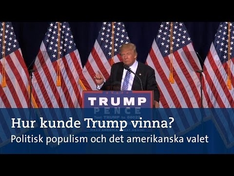 Hur kunde Trump vinna? Forskare inom politisk populism om det amerikanska valet
