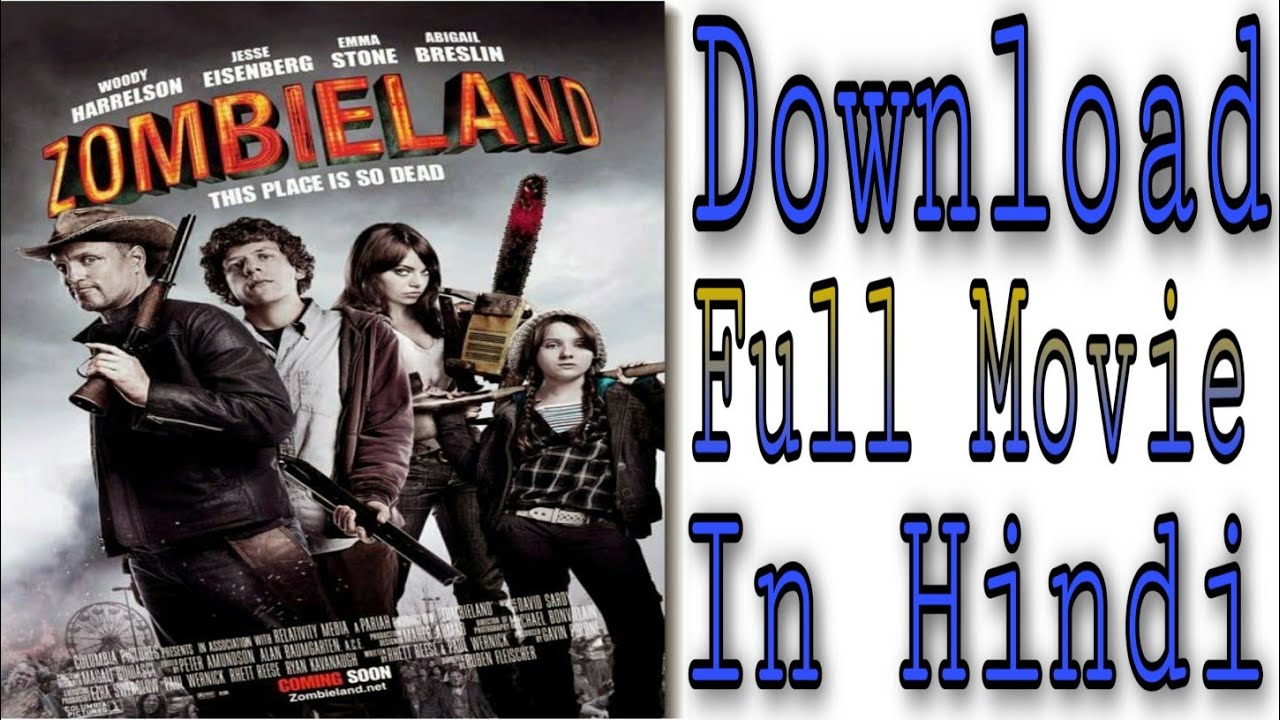 Download How to Download Zombieland Double Top 2019 Movie In Hindi 720p 100% present proof