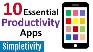 10 Productivity Apps I Can't Live Without 📱