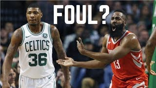 NBA Clutch Offensive Fouls ᴴᴰ