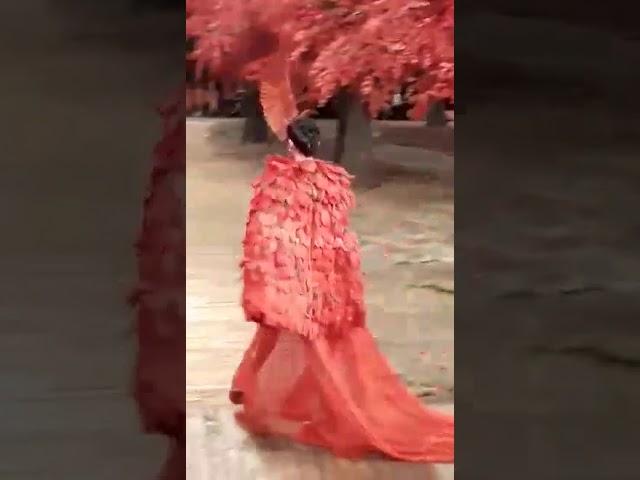 Super Model Vo Hoang Yen catwalk The Muse Fashion Show.