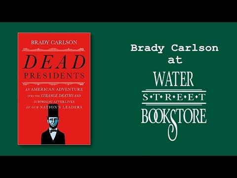 Brady Carlson at Water Street Bookstore