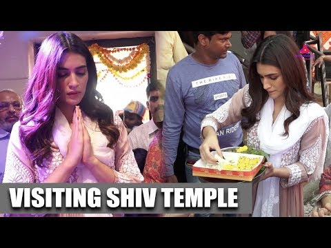 Kriti Sanon With Her Family Visit Shiv Temple To Seek Blessing | Mahashivratri Mp3