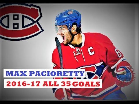 Max Pacioretty (#67) ● ALL 35 Goals 2016-17 Season (HD)