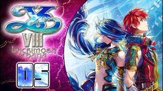 Ys VIII: Lacrimosa of DANA Walkthrough Part 5 (PS4, VITA) English - No Commentary