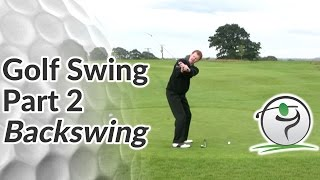 Golf Swing Sequence Part 2 - Halfway Back Position