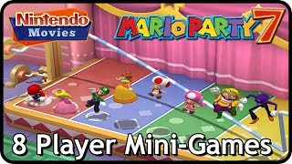 Mario Party 7 - All 8-Player Mini-Games (Multiplayer)