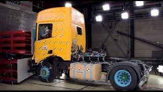 Краш тест грузовика