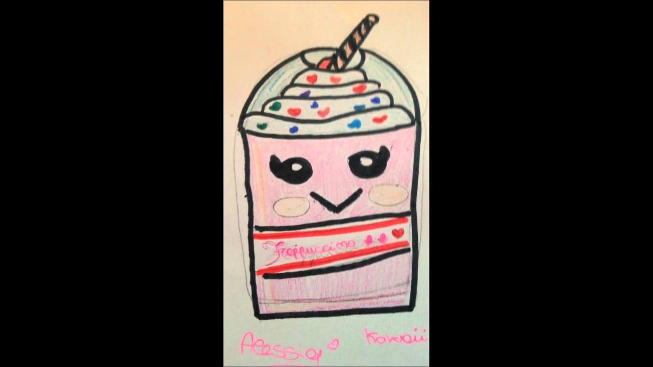 I miei primi disegni kawaii alessia youtube for Disegni facili kawaii