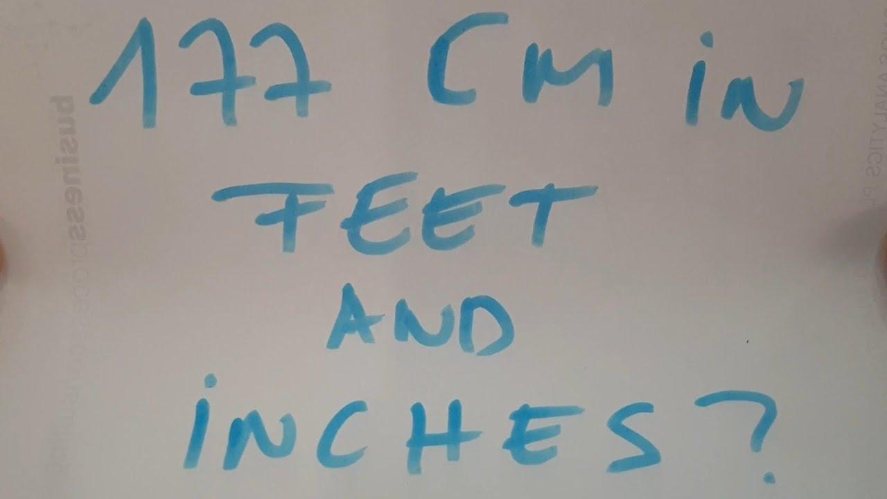177 Cm In Feet