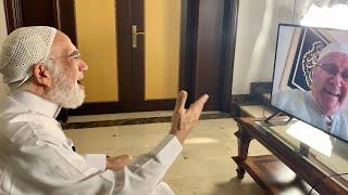 شاهد أول مكالمة بين د. النابلسي ود. عمر منذ بدء الأزمة والتهنئة بالعيد