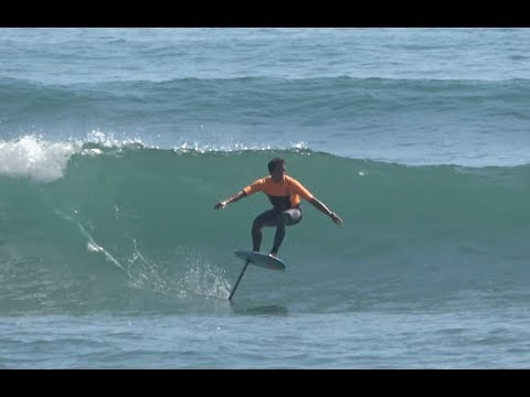 California Foil Surfing with Kai and Friends