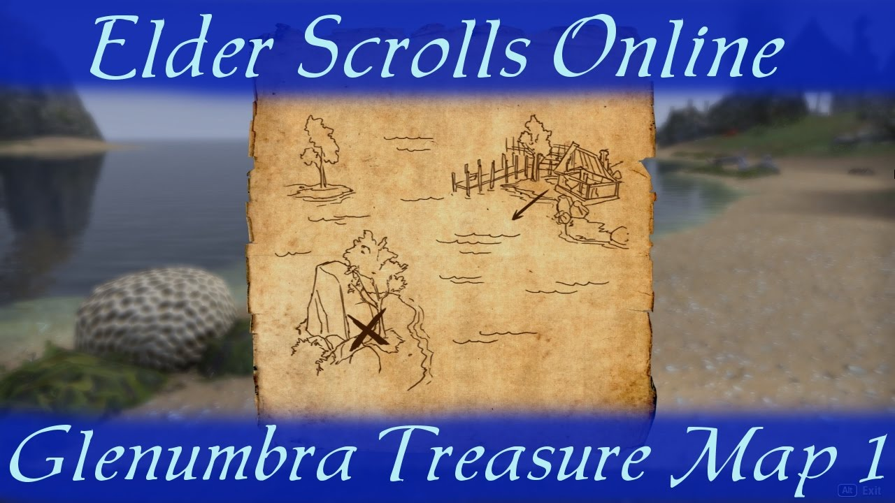 Glenumbra Treasure Map 1 [Elder Scrolls Online] ESO