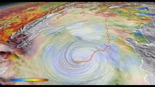 A New Multi-dimensional View of a Hurricane