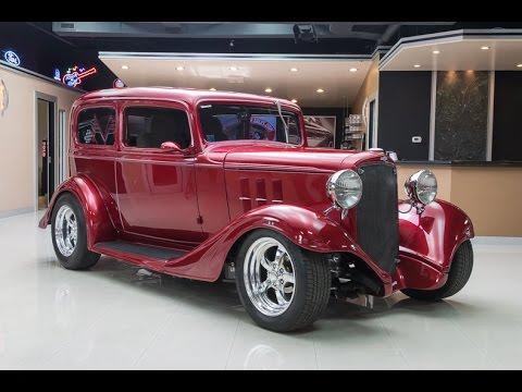 1933 chevrolet sedan street rod for sale youtube for Vanguard motor sales inventory