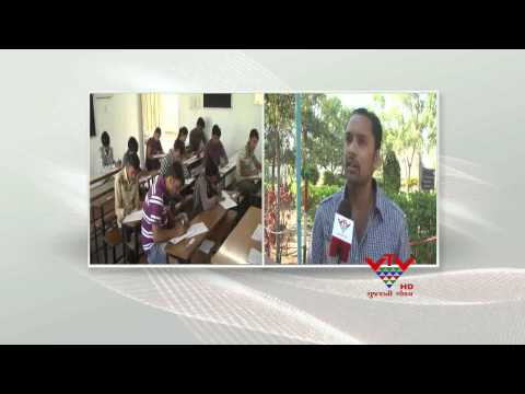 BHAVNAGAR UNIVERSITY OPPOSED STUDENTS - VTV
