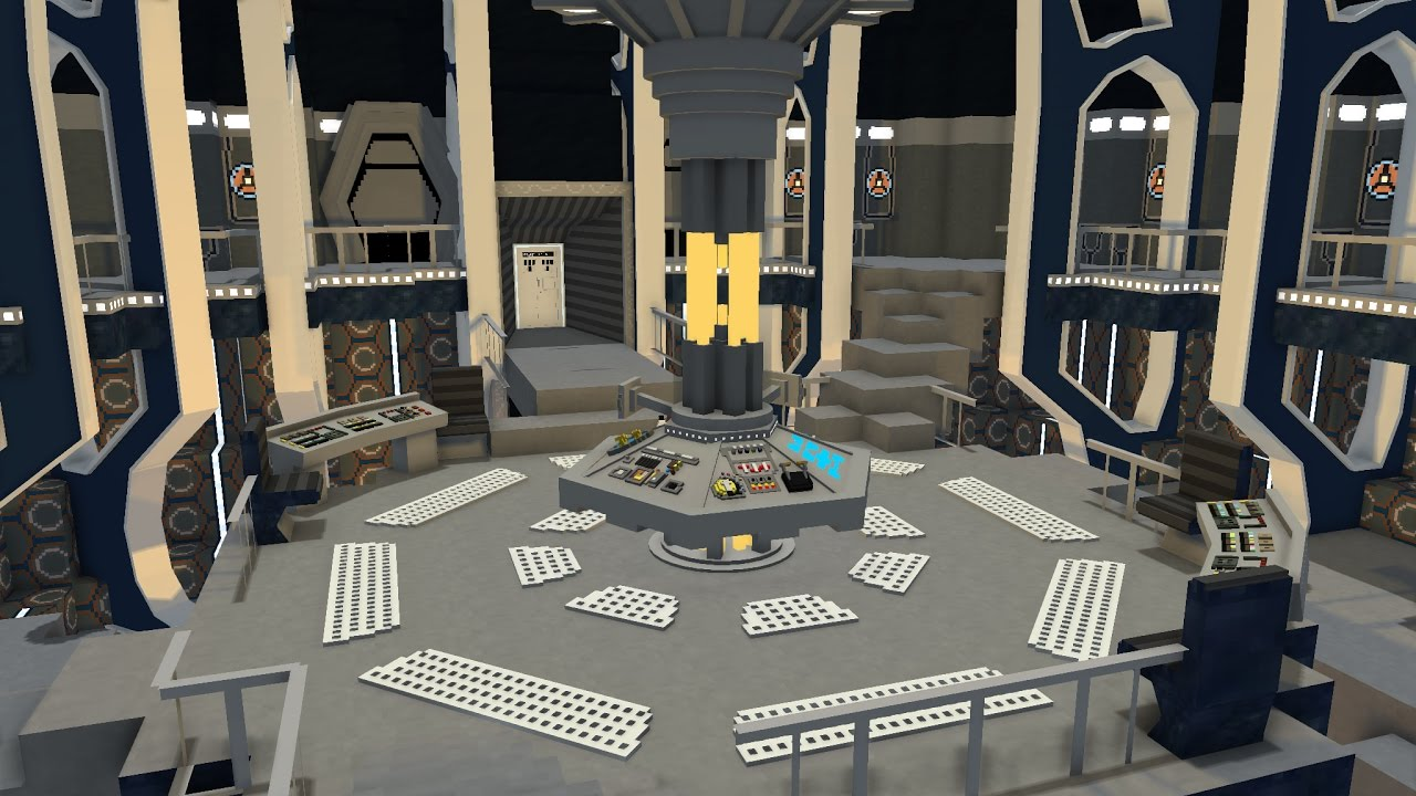 TARDIS Interior Dalek Mod Rig 1.1.2 DOWNLOAD !