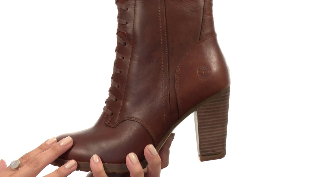 Timberland Earthkeepers® Stratham Heights Tall Lace Waterproof Boot  SKU:8343943 - YouTube