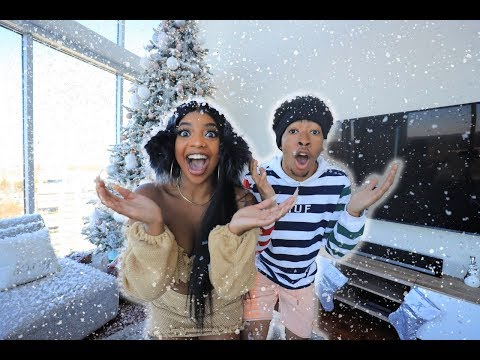WE MADE IT SNOW IN OUR HOUSE!! | VLOGMAS DAY 11