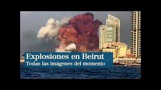 NOTICIAS DE HOY:  BEIRUT ARDE EN LLAMAS