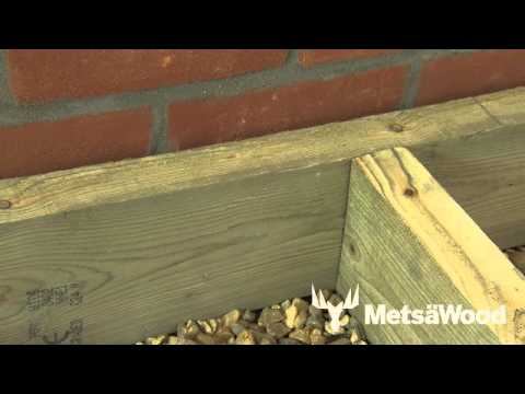 How To Deck Up Walls